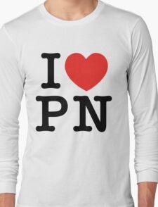 I Love Panem (for light tee's) Long Sleeve T-Shirt