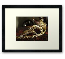 Princess for the day Framed Print