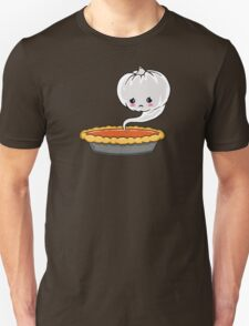 Sad Pumpkin | Cute Pumpkin Ghost  Unisex T-Shirt