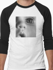 GLASS EYE (MUG) Men's Baseball ¾ T-Shirt
