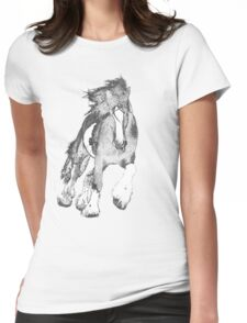 Thundering Hooves T Womens Fitted T-Shirt