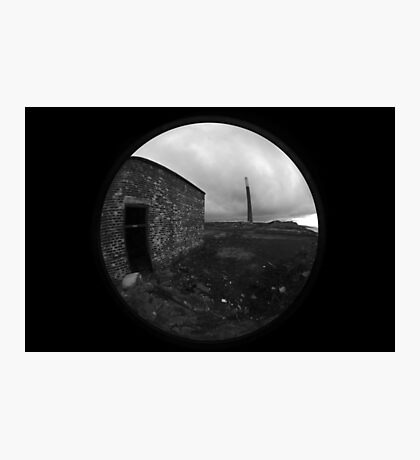 Abandoned chemical plant Photographic Print