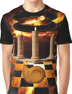 The Elemental Tourist - Fire Graphic T-Shirt
