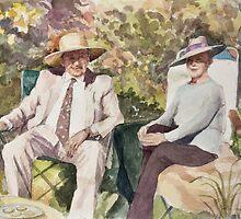 Sun worshippers by Joyce Grubb