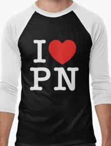 I Love Panem (for dark tee's) Men's Baseball ¾ T-Shirt