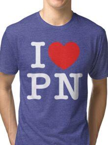 I Love Panem (for dark tee's) Tri-blend T-Shirt
