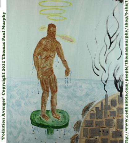 Pollution Avenger Sticker