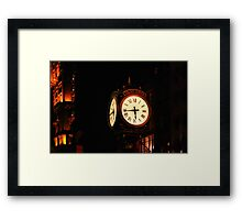 A New York Minute Framed Print