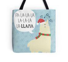 Fa La La La Llama - Christmas  Tote Bag