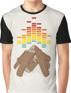 Crackling Fire Graphic T-Shirt