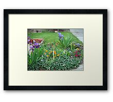 Garden of Delight Framed Print