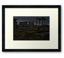 Steetley Chemical Plant Framed Print