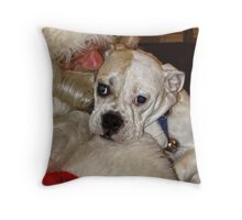 I believe in Santa too! Throw Pillow