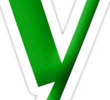y Green - Google Font  Sticker
