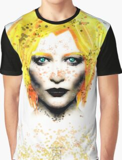 Freckle Face Girl Graphic T-Shirt