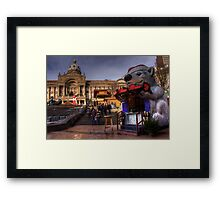 The Beer Bear Framed Print