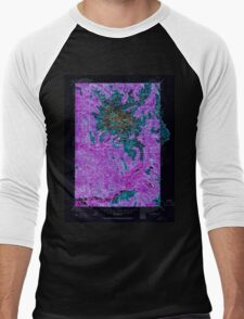 USGS Topo Map Washington State WA Mt Rainier 242665 1924 125000 Inverted Men's Baseball ¾ T-Shirt