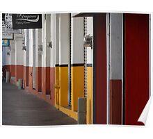 Impressions - Streets Of Puerto Vallarta I / Impresiónes - Calles De Puerto Vallarta Poster