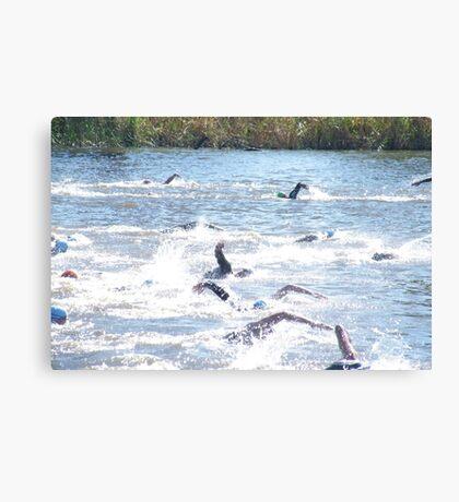 Benalla Triathlon Canvas Print