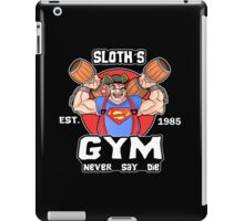 Funny Gym Sloth The Goonies Fitness iPad Case/Skin