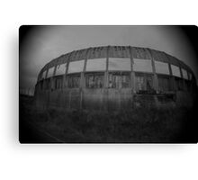 Abandoned chemical plant Canvas Print
