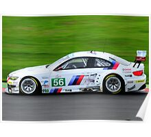 BMW M3 No 56 Poster