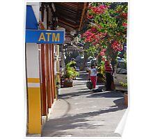 Impressions - Streets Of Puerto Vallarta III / Impresiónes - Calles De Puerto Vallarta Poster