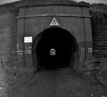Abandoned chemical plant Tunnel by Sarah Horsman