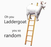 Oh you laddergoat... by phykix