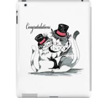 Congratulations My Friend iPad Case/Skin