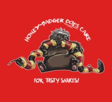 Honey-Badger DOES care! White text by Rosalila
