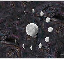 Moon Phases in an Imagined Universe by Wayne King