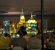 Reflections of the Bund © by Ethna Gillespie
