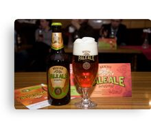 Brackie Pale Ale Canvas Print