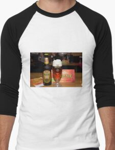 Brackie Pale Ale Men's Baseball ¾ T-Shirt