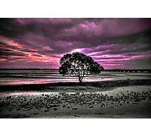 Stormy sky Photographic Print