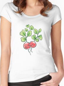 Veggie lovin' Women's Fitted Scoop T-Shirt