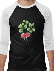 Veggie Lovin' white lining Men's Baseball ¾ T-Shirt