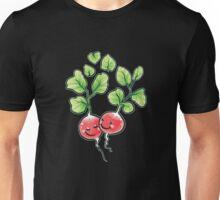 Veggie Lovin' white lining Unisex T-Shirt