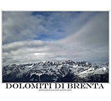 brenta dolomites Photographic Print