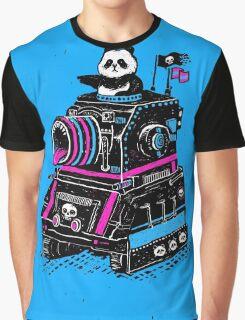 Panda's Skull Tank Graphic T-Shirt