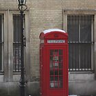 London phone box by rafstardesigns