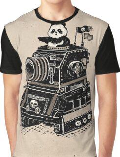 Panda's Skull Tank Vintage Style Graphic T-Shirt
