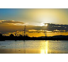 Somerset Sundown Photographic Print
