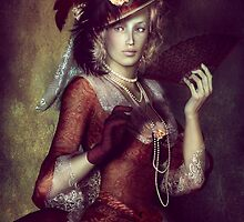 Lady with Fan by Shanina Conway