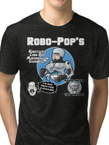 RoboPops Cereal Box Mashup Tri-blend T-Shirt