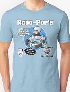 RoboPops Cereal Box Mashup Unisex T-Shirt