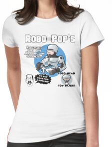 RoboPops Cereal Box Mashup Womens Fitted T-Shirt