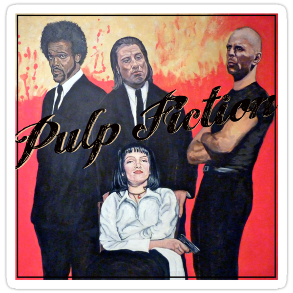 Pulp Fiction by Tom Roderick
