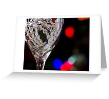 Crystal Clear Thoughts Greeting Card